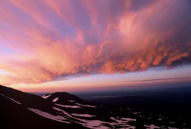 sunrise, ecuador